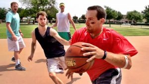 Title - Pickup Basketball Stereotypes - Dude Perfect