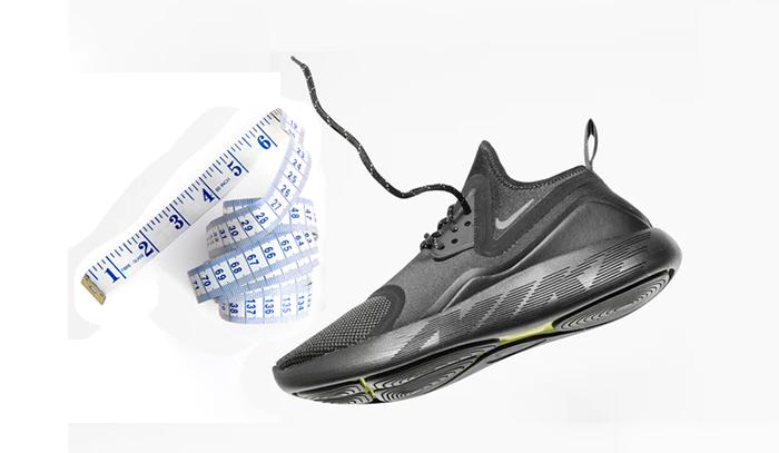 measuring basketball shoe size