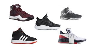 Top 5 Adidas Basketball Shoes Collage