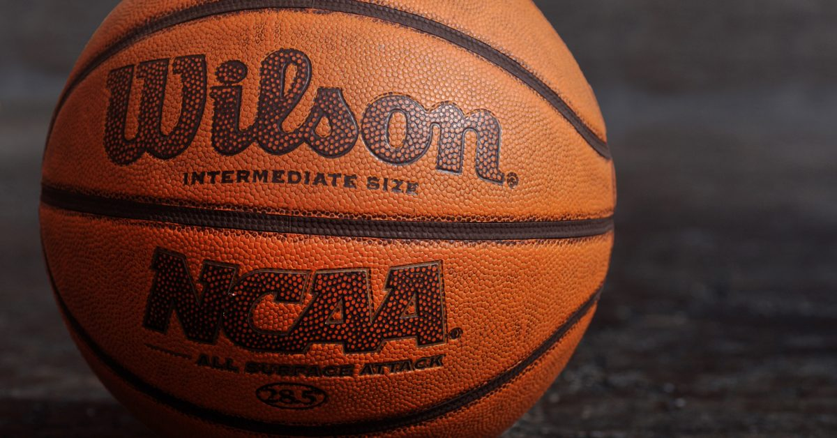 Composite NCAA basketball