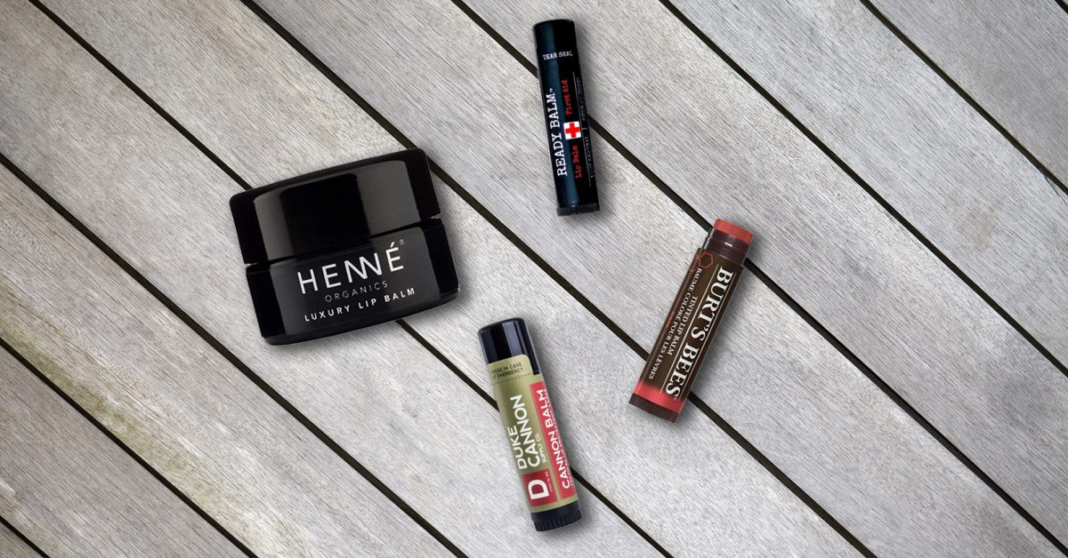 Best lip balm for men various lip balms