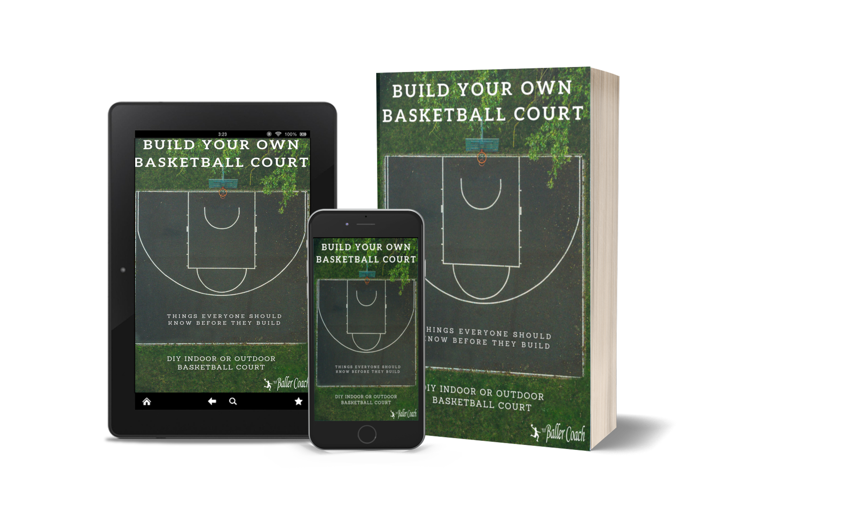 "Pic of cover for ""Build Your Own Basketball Court"""